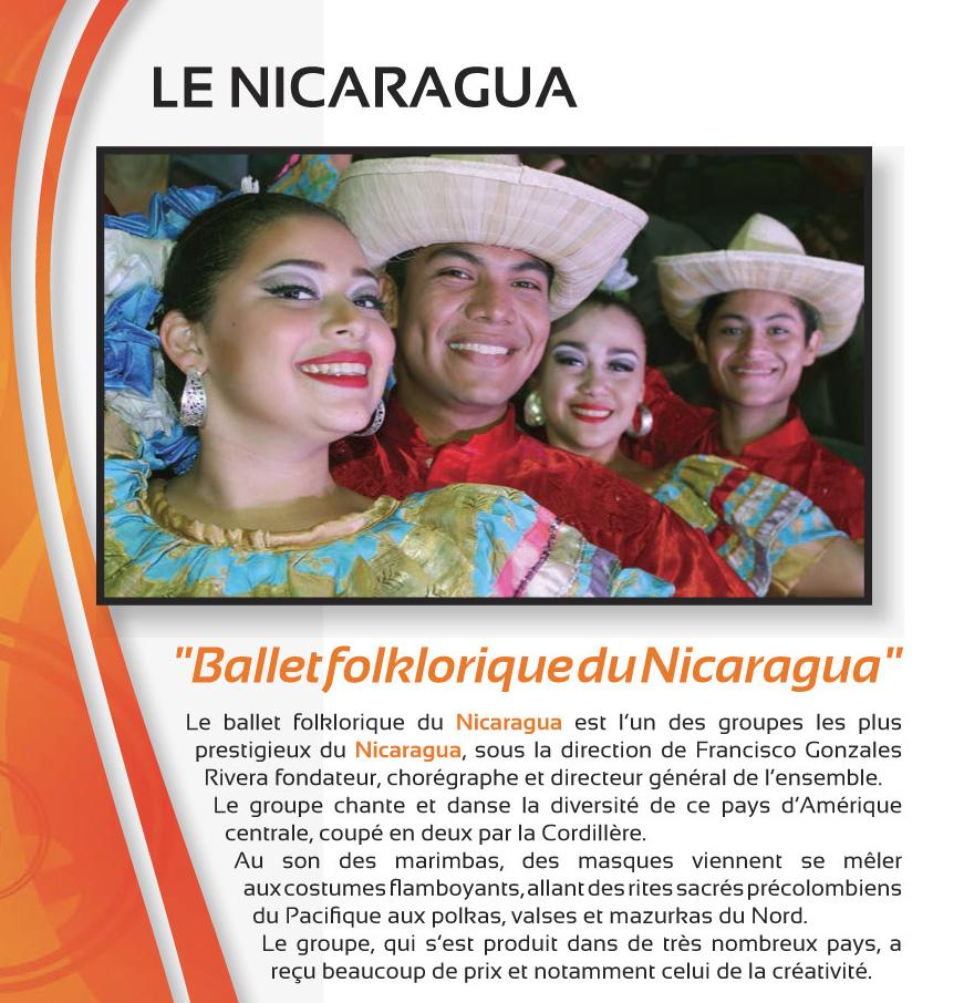 Festival Musiques et Danses du Monde – Juillet 2018 – LE NICARAGUA
