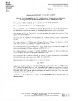 Arrêté modifications des dates d'appel à la générosité d'Eure-et-Loir