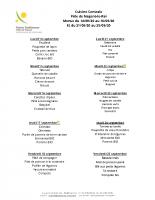 menu semaines 38 et 39
