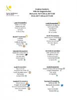 menus semaines 47 et 48