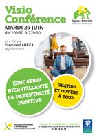 Affiche conference Education bienveillante